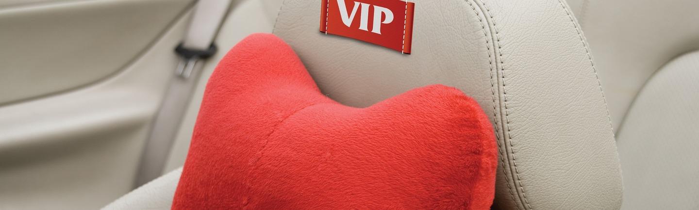 בתמונה - מושב של רכב מעור עם כרית נוחה